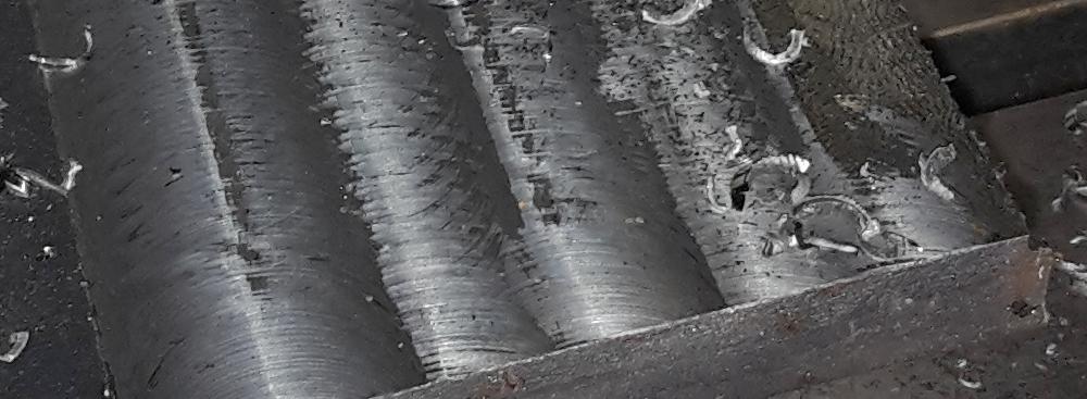 Stahl fräsen
