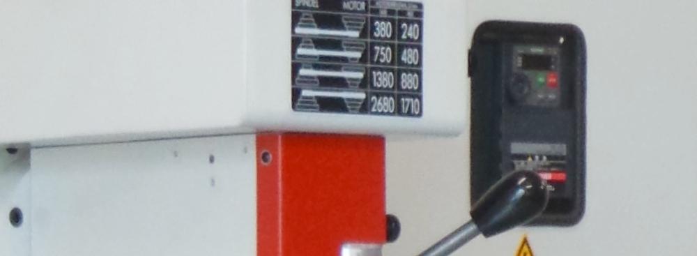 Frequenzumrichter und Getriebe