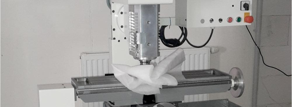 Testaufbau SK30 Werkzeugwechsler